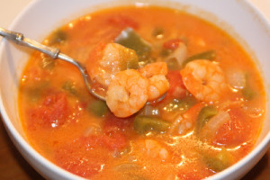 Brazilian Shrimp Soup