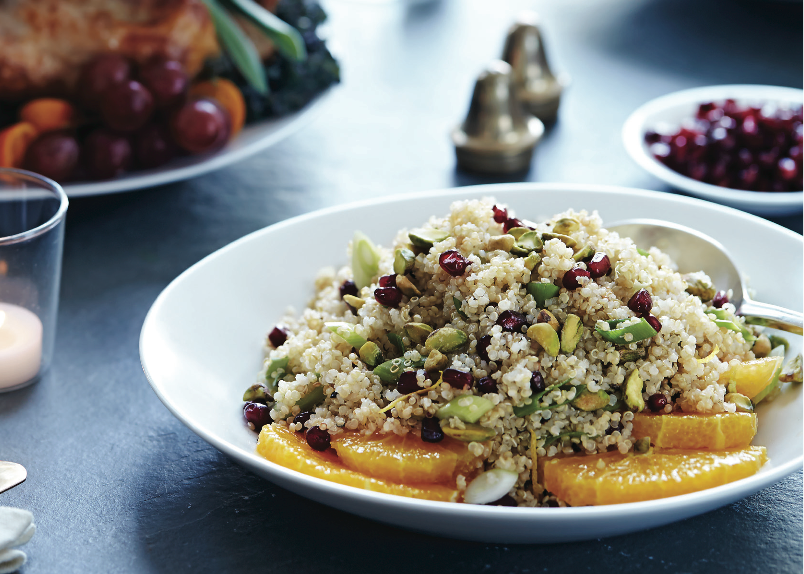 Quinoa and Pistachio
