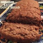 Cinnamon and Raisin Quick Bread