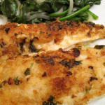 Flounder in Lemon Butter Sauce