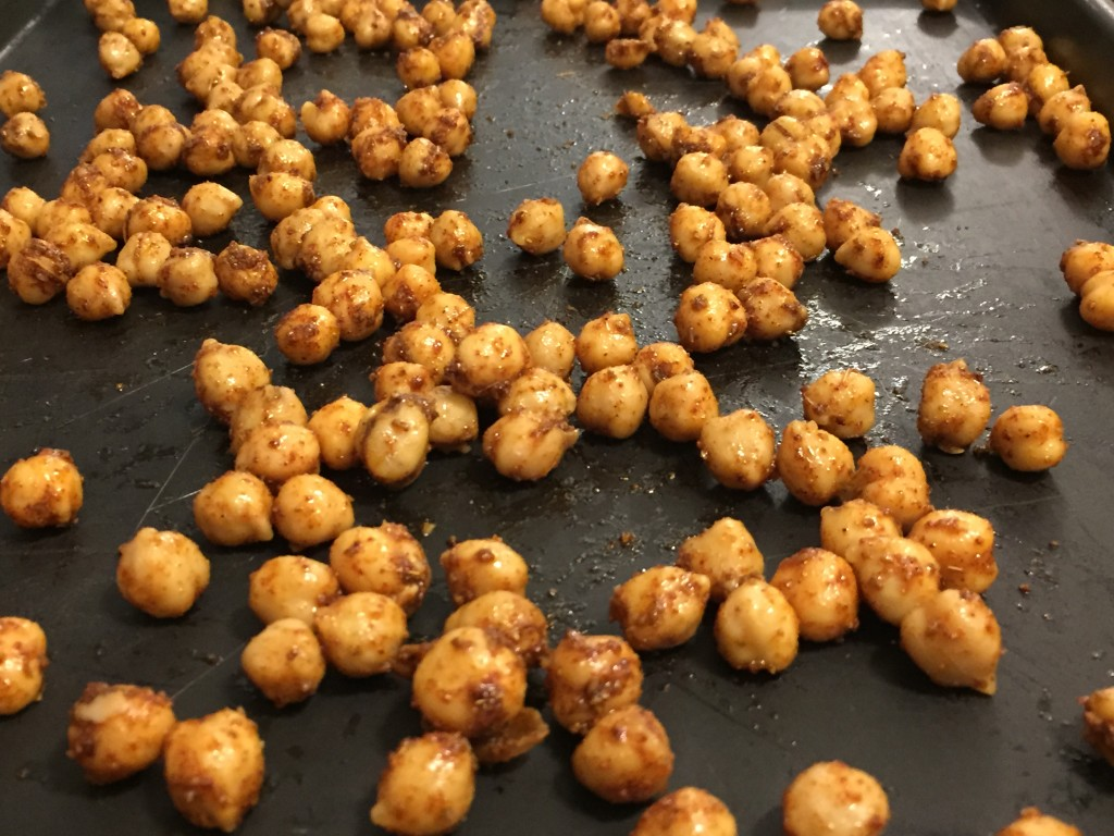 chick peas oven