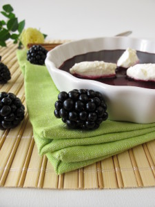 Blackberry Pear Soup