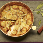 Rosh Hashana: Potato Apple Galette