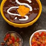 Pumpkin Black Bean Soup