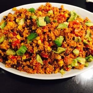 One Pan Mexican Quinoa