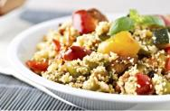 Warm Moroccan Spiced Couscous