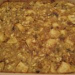 Passover:  Apple Matzoh Kugel