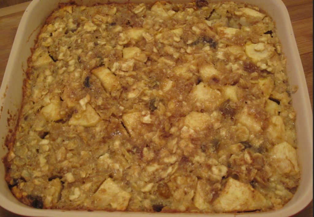 Passover Apple Matzoh Kugel My Judy The Foodie
