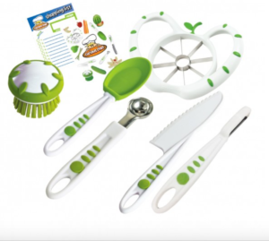 Curious Chef Kids' 6-Piece Prep Kit Giveaway