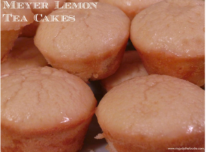 Mother's Day: Meyer Lemon Tea Cakes