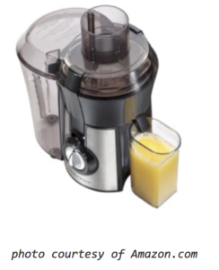 Hamilton Beach Juice Extractor Giveaway